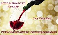Wine Tasting Club Card