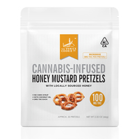 Venice Cookie Company Honey Mustard Pretzels 100mg THC