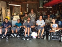 Rollin' Rebels Power Soccer Team receives $40K donation to fund new Strike Force Chairs