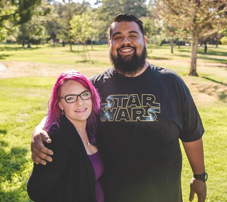 Chris and Drea Santa Barbara Homeless Housing Success Story