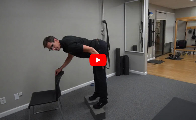 Stretch – Hamstrings and Calves Together