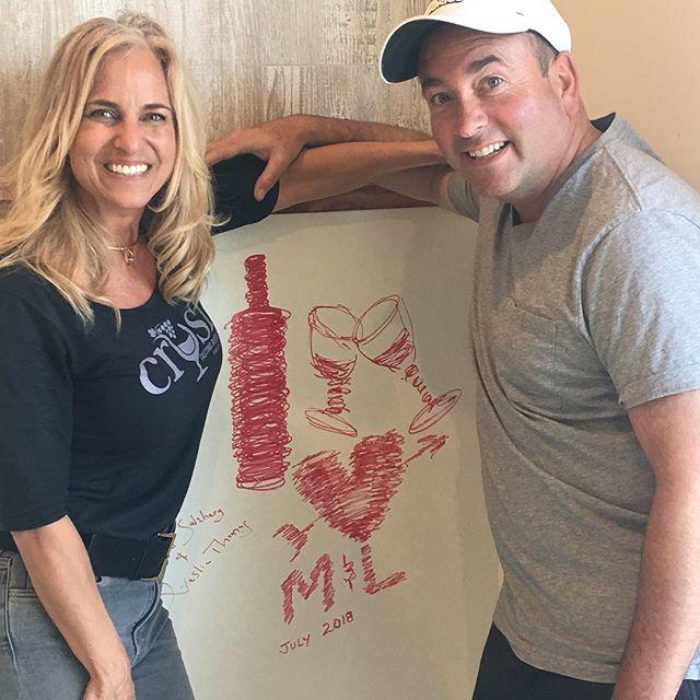 Michael and Lisa Amador - Santa Barbara's favorite wine tasting and appetizer bar