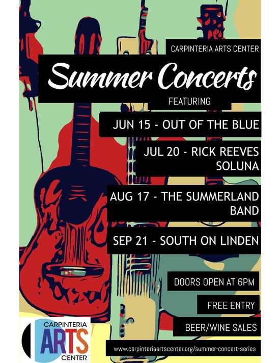 2018 Summer Concert Series - SECOND FINAL POSTER