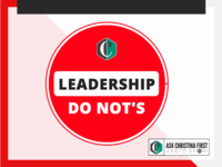 Leadership Not To Do's