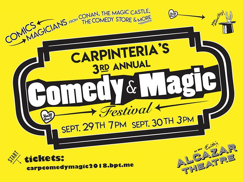 3rd Annual Comedy & Magic Festival