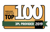 Accolades & Awards Top 100 3PL Providers
