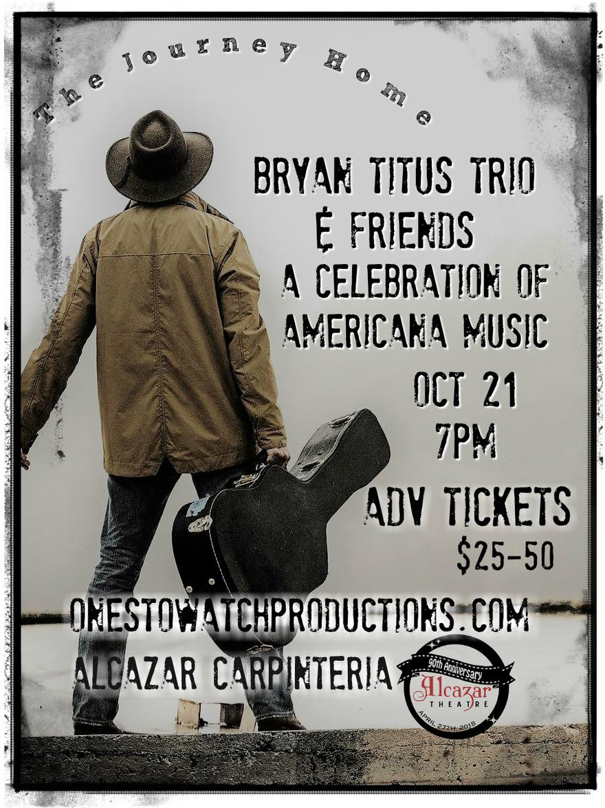 Bryan Titus Trio & Friends