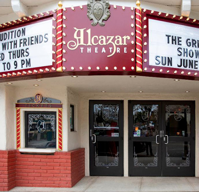 Art In Film Series - Exterior of Alcazar Theater