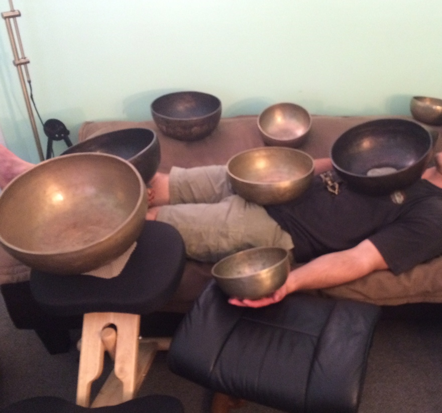 Tibetan Healing Bowls Used in Santa Barbara Therapy