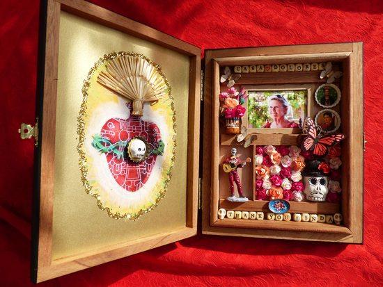 """Shrine of a Lifetime: Create a Mexican Folk Art Nicho"" with Kathy Mills - 1"