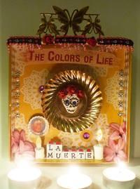 """Shrine of a Lifetime: Create a Mexican Folk Art Nicho"" with Kathy Mills - 2"