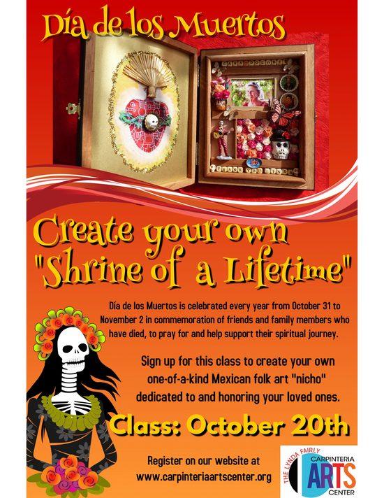 """Shrine of a Lifetime: Create a Mexican Folk Art Nicho"" with Kathy Mills - 4"