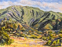 """""""Parma View"""", 9 X 12, oil"""