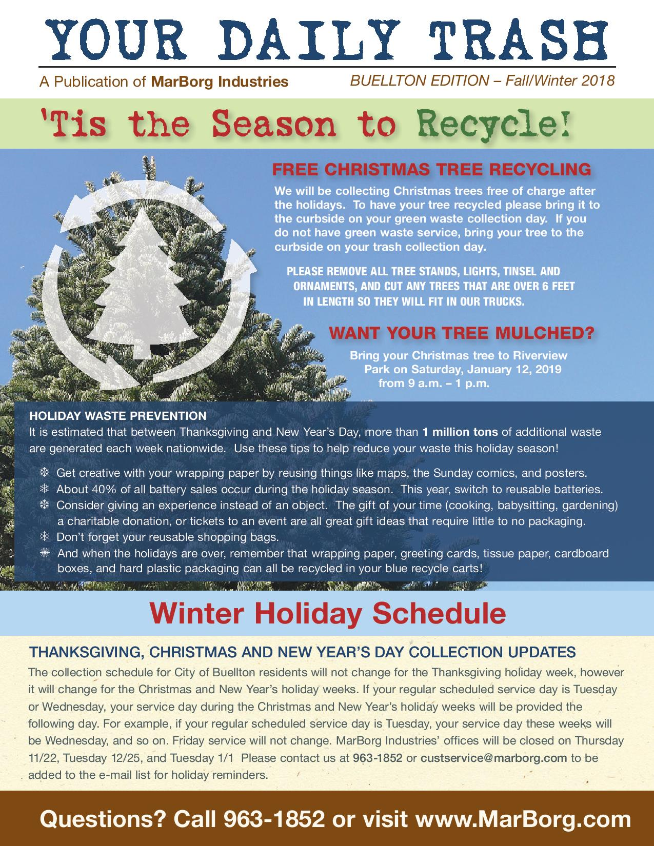 2018 Winter Newsletter - Goleta