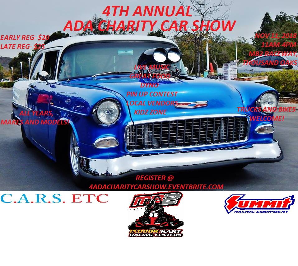 4th Annual ADA Chairity Car Show
