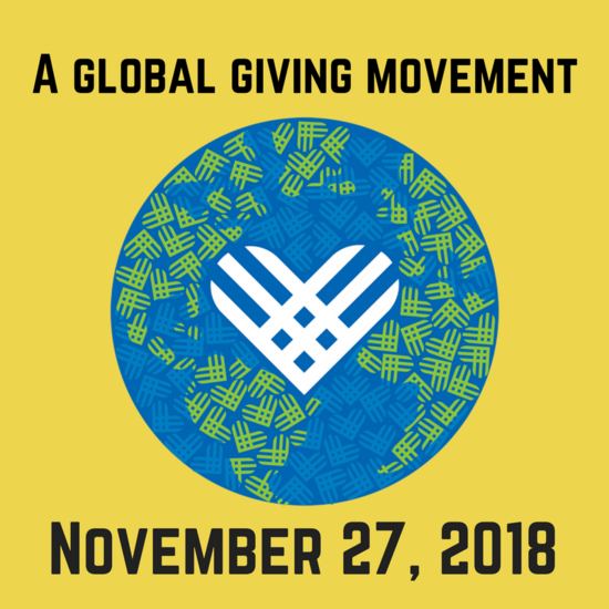 Giving Tuesday 11/27/18 - Giving Tuesday - Global Logo with Date PNG