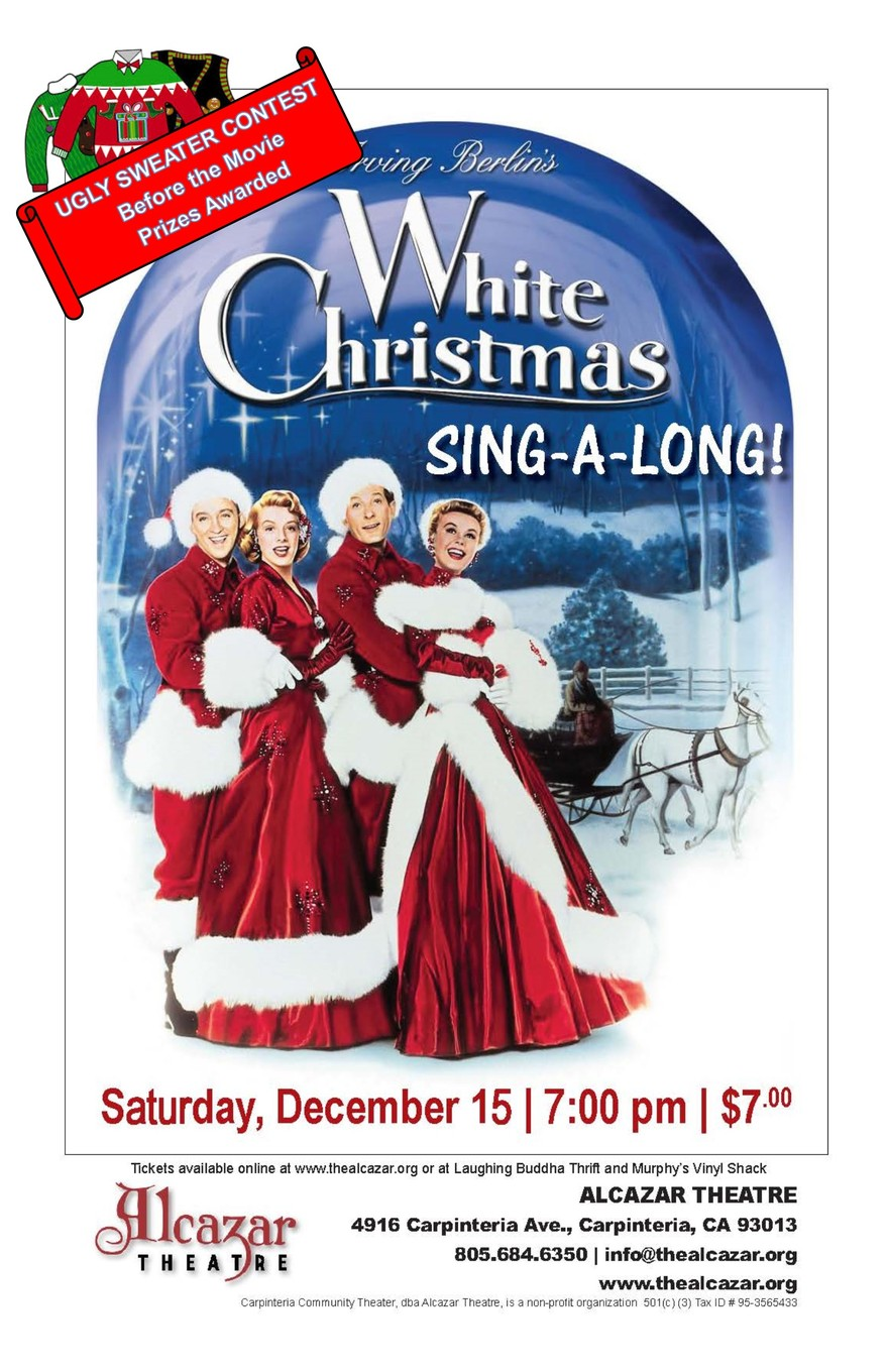 White Christmas Sing - A-Long