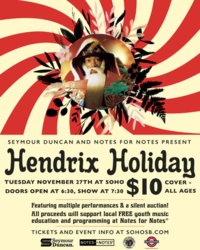 Hendrix Holiday: A Tribute to Jimi Hendrix Benefitting Notes for Notes