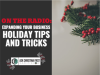 On the Radio: Holiday Tips & Tricks