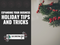 Holiday Tips & Tricks