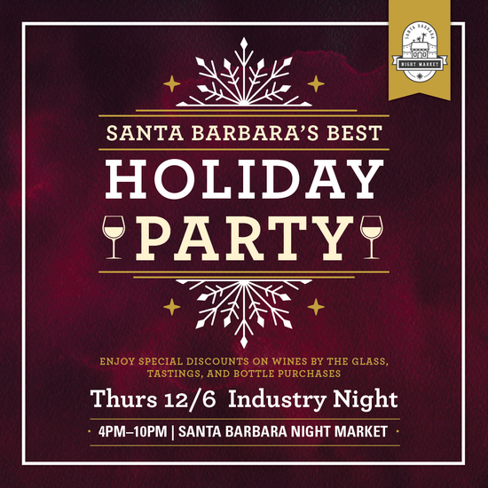 Industry Night at Santa Barbara's Best Holiday Party