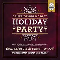 Locals Night at Santa Barbara's Best Holiday Party