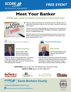 Meet Your Banker What you need to know to acquire a business loan