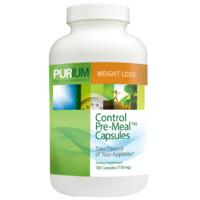 CONTROL Pre-Meal Capsules - 180 ct
