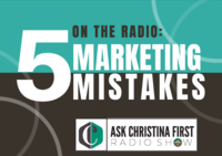 Radio: 5 Common Mistakes Around Marketing