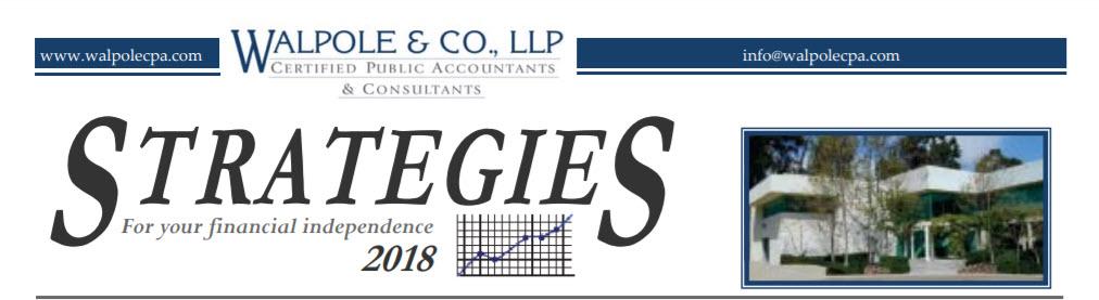 2018 Strategies Newsletter Logo