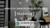 Radio: Spiritual Principles in Business: Marketing