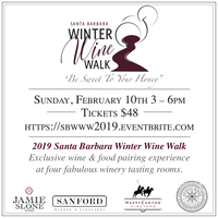2019 Santa Barbara Winter Wine Walk