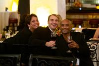 UCP WORK, Inc. Directors Maria Prince Matt Dursum and Dharamesh Patel pose for photo