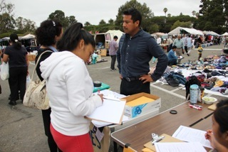 Helping Dreamers at the Swapmeet with application for deferred action