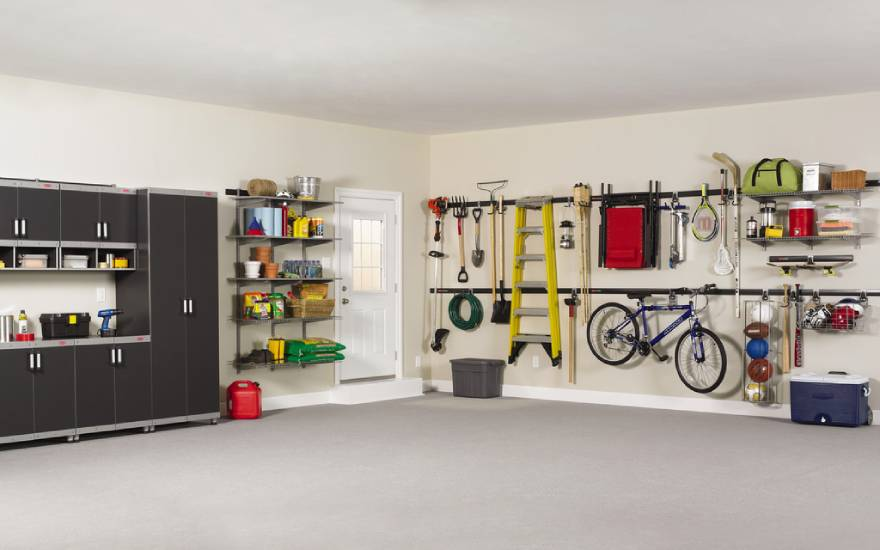 Achieve Garage Sanity Before the Storms!