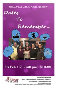 Alcazar Improv Showcase: Dates to Remember