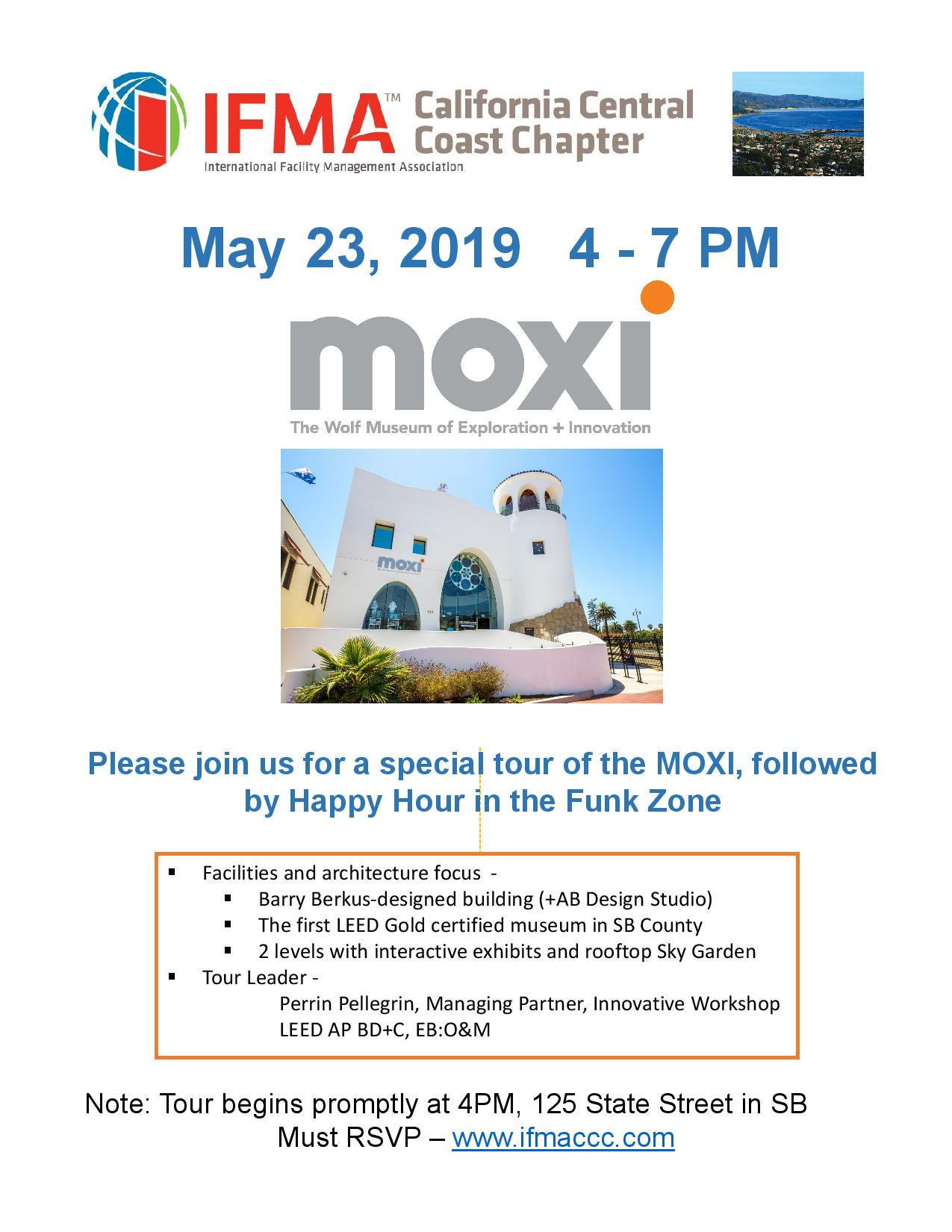 Moxi Museum Tour and Happy Hour