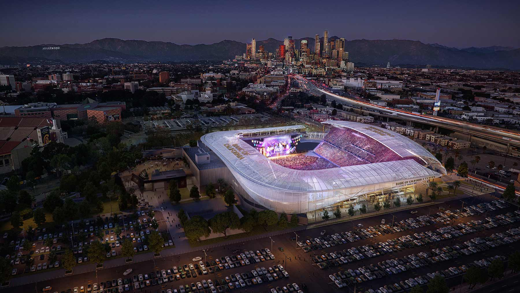 Banc of California Stadium Tour