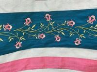 Juliet's flowering vine tallit