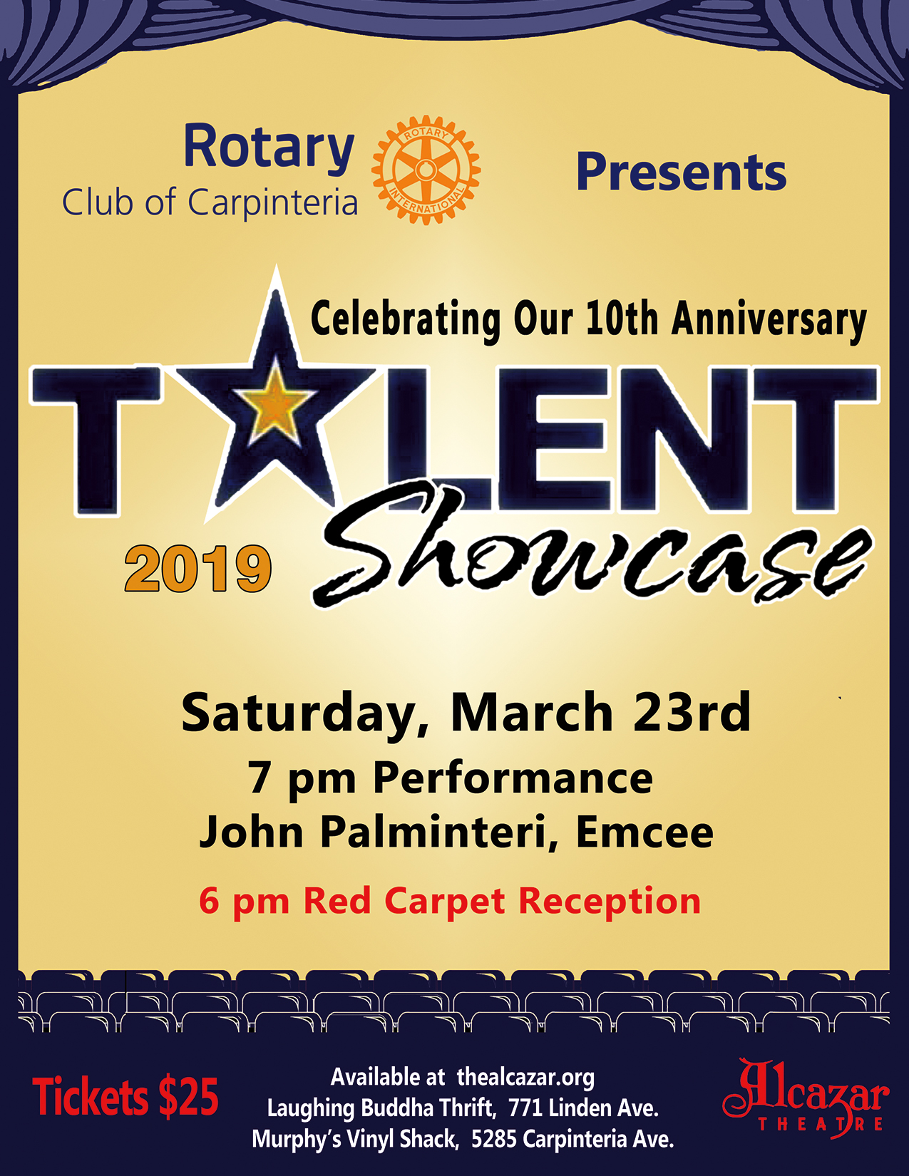10th Anniversary Rotary Talent Showcase