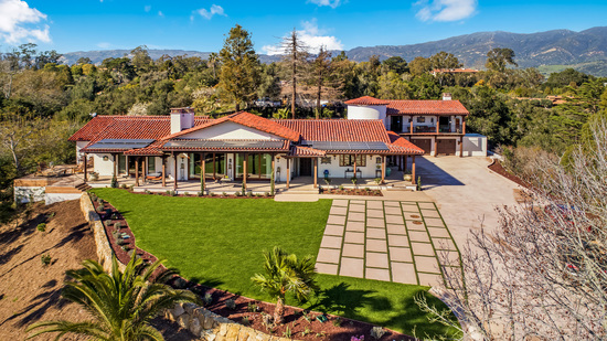 956 Via Fruteria Hope Ranch Estate of Distinction