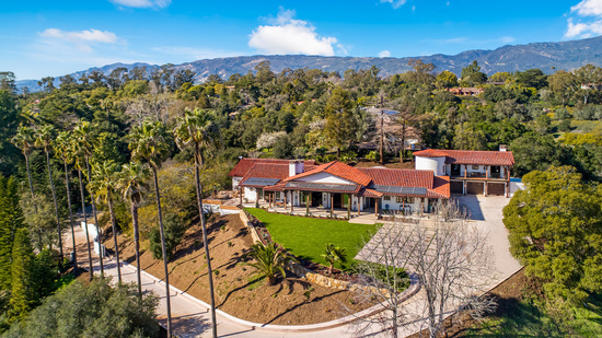 956 Via Fruteria Hope Ranch Estate of Distinction