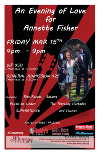 An Evening of Love for Annette Fisher
