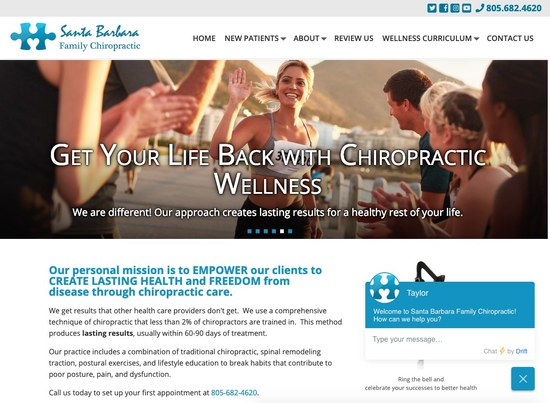 Santa Barbara Family Chiropractic Home