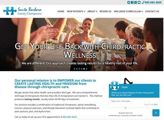 Santa Barbara Family Chiropractic Home