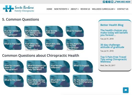 Santa Barbara Family Chiropractic Secondary