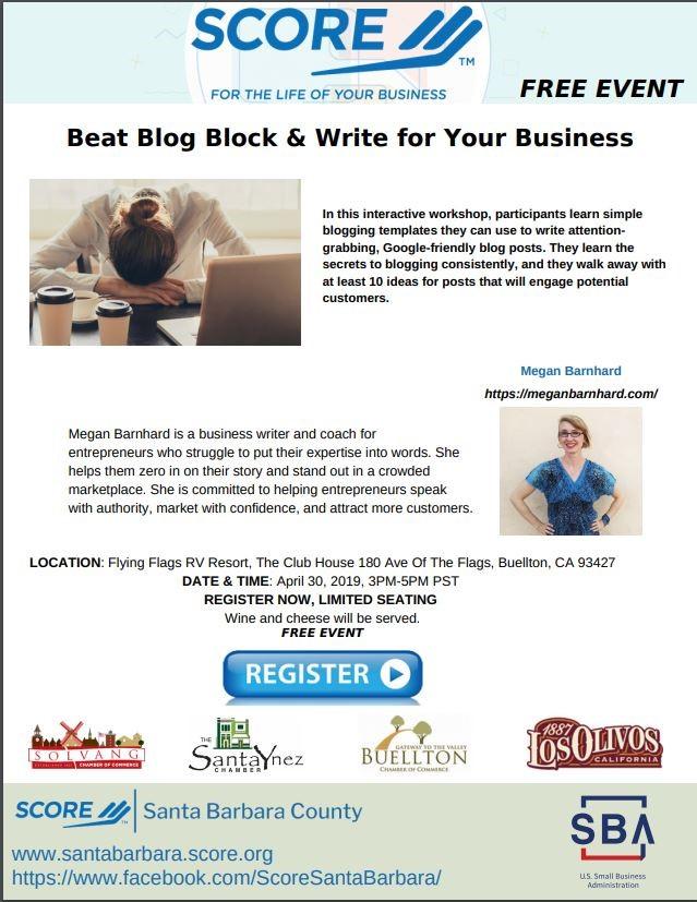 Beat the Blog Block