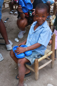 Haiti Shoe Drive with Shoes 2 Share