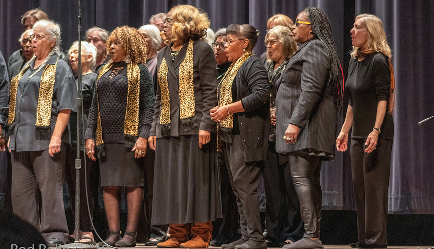 Combined Choir: Coastal West and Santa Barbara Community Choir