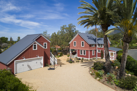 SOLD!!!  1189 No. Ontare Renovated Farmhouse in Santa Barbara